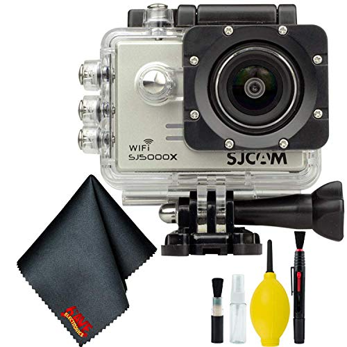 SJCAM SJ5000X Elite 4K Action Camera (Silver) Basic Bundle