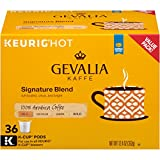 Gevalia Mild Signature Blend Keurig K Cup Coffee Pods (144 Count, 4 Boxes of 36)