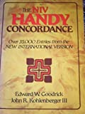 The NIV Handy Concordance, Edward W. Goodrick, 0310436621