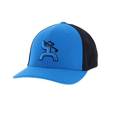 half off 15866 4c2b4 ... norway hooey golf mosaic blue black flexfit hat s m 8166d 74291
