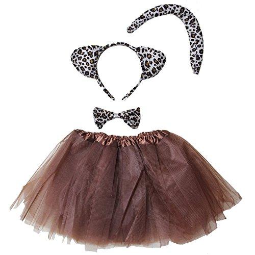 Kirei Sui Kids Costume Tutu Set Leopard]()