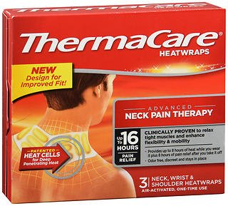 - ThermaCare HeatWraps Neck, Wrist & Shoulder - 3 ct, Pack of 3