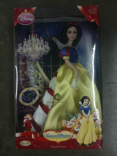 2009 Brass Key Snow White Crystal Dream Porcelain Doll Collectible