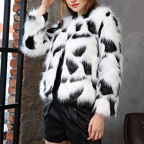 Femmes Veste Manteau Femmes Manteau ADESHOP Hiver Mode Fourrure Fausse Chaud Femmes S8OHSqEw