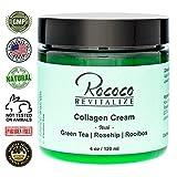 Collagen Cream with Green Tea Rosehip Rooibos – 4oz