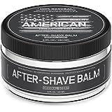 American Shaving After Shave Balm For Men (4oz) - Original Masculine Scent - 100% Natural Moisturizing Aftershave Lotion - Best Aftershave For Men to Soothe & Hydrate Dry Sensitive Skin Post Shave