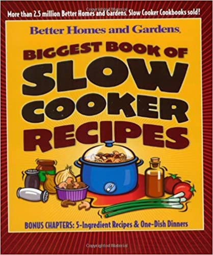 Biggest Book of Slow Cooker Recipes (Better Homes & Gardens)