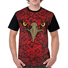 Mine Rhythm Teen Boys Red-wallpaper-background-19 Short Sleeve Shirts T-Shirt