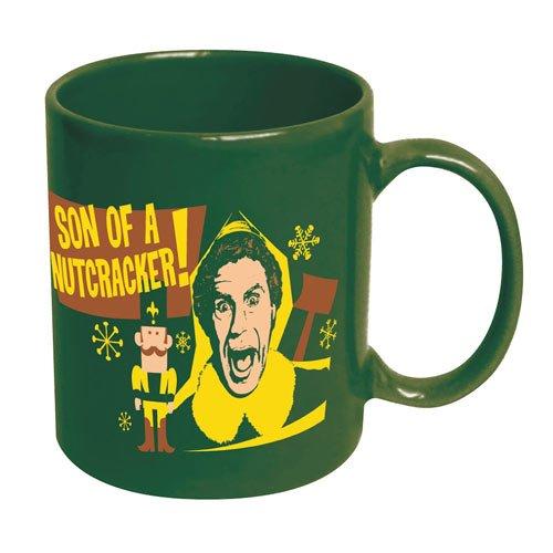 Son Of A Nutcracker Coffee Mug Elf Buddy Will Ferrell Christmas Movie Xmas