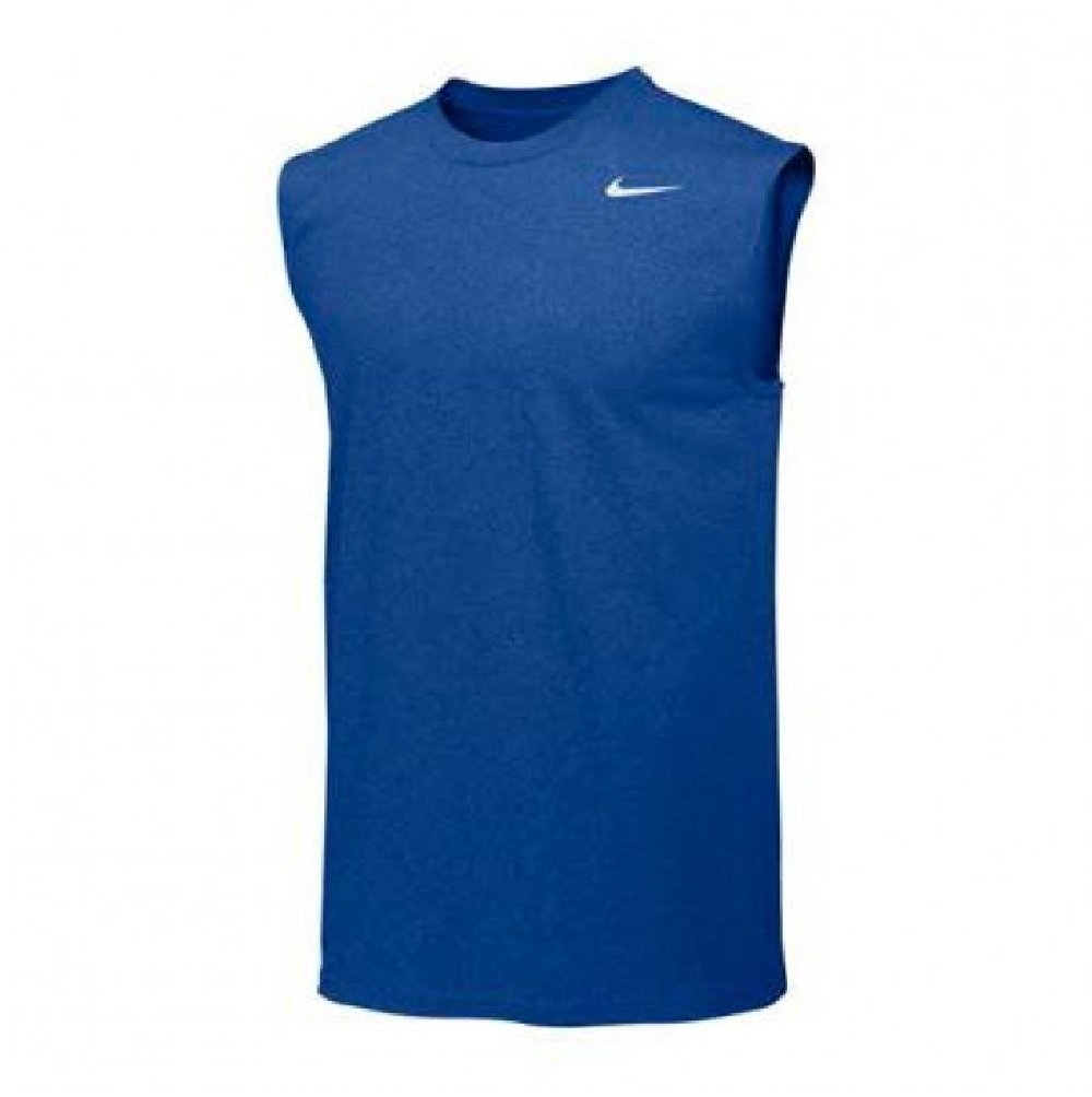 Nike Mens Legend Dri Fit Sleeveless T Shirt (Medium, Royal)