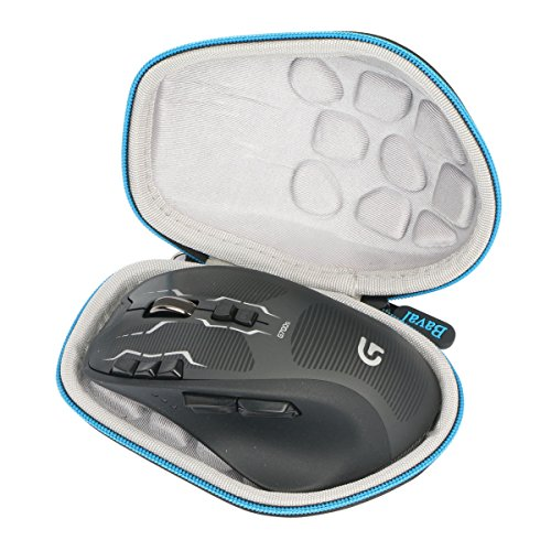 Baval Hard Portable Case for Logitech G700s 910-003584 Rechargeable Gaming Mouse