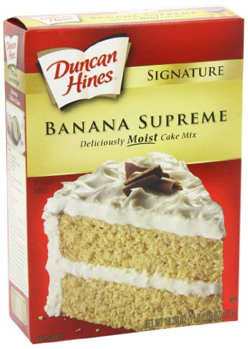 Duncan Hines Signature Banana Layer Cake Mix, 18.25-Ounce Boxes (Pack of 6) by Duncan Hines (Image #7)