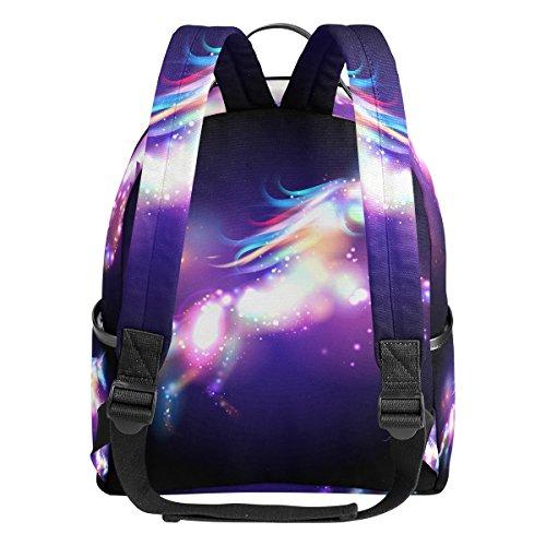 JSTEL Unicorn Magic Stars School Backpack 1th 2th 3th Grade for Boys Teen Girls by JSTEL (Image #3)