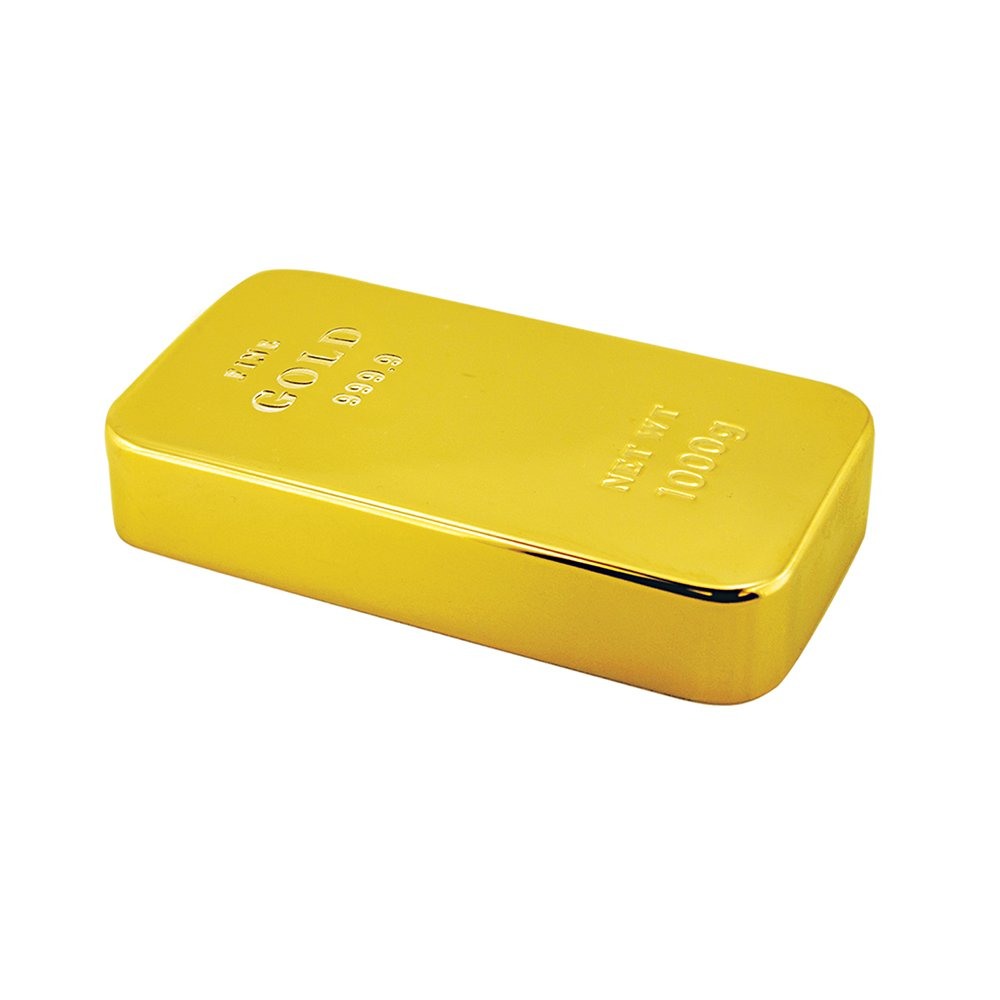 Gold Bar Paperweight by Design Gifts
