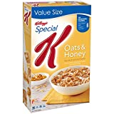 Special K Breakfast Cereal Honey Oat, 18.5 oz