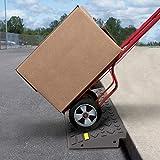 Stalwart 75-CAR1064 Curb 4 Ton Capacity Ramp