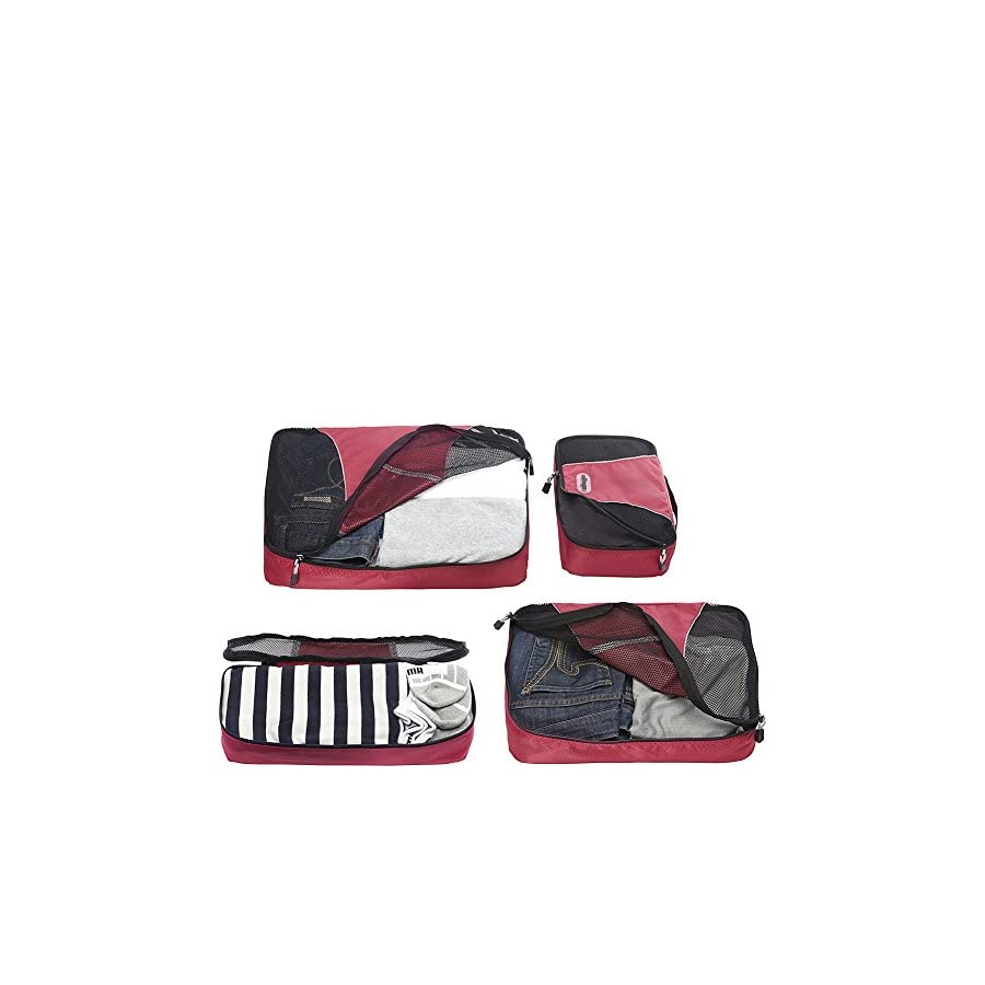 eBags Packing Cubes 4pc Classic Plus Set