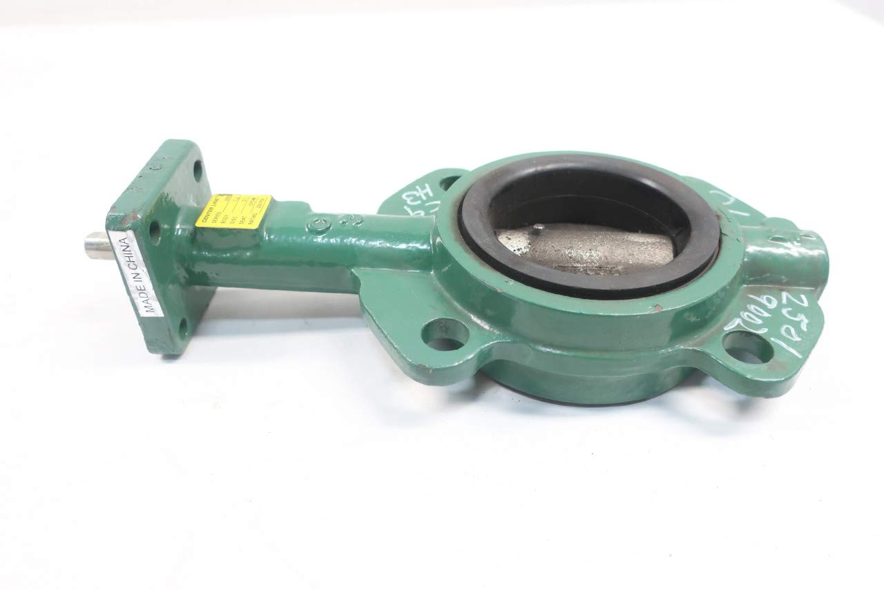 Center LINE 200 Manual Iron Wafer 3IN Butterfly Valve