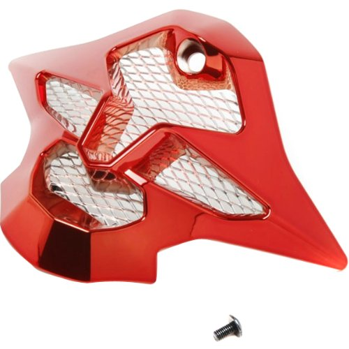 Shoei Mouth Piece VFX-W MX Motorcycle Helmet Accessories - Color: Chrome Red