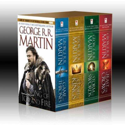Game Thrones Boxed George Martin product image