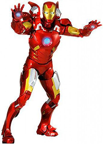 NECA Avengers Iron Man 18 Action Figure, Scale 1:4