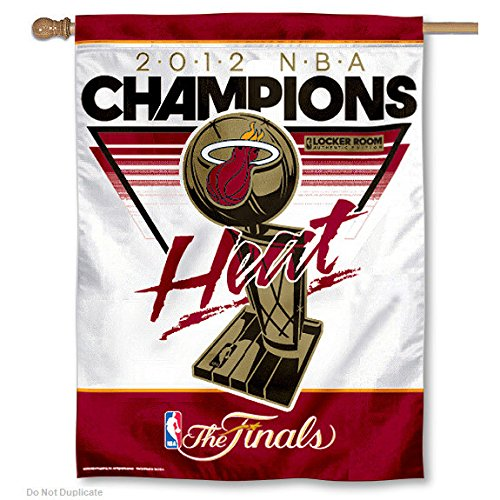 (Wincraft Miami Heat 2012 NBA Finals Champions Official On Court/Locker Room Celebration 27