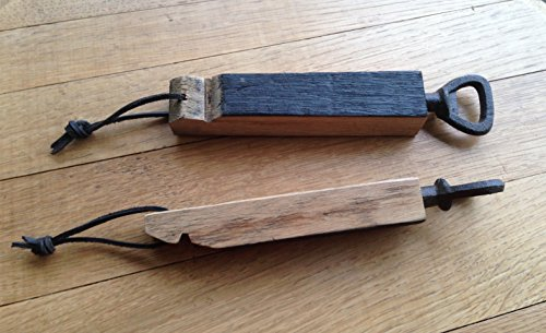 Bourbon Barrel Stave Bottle Opener, free shipping (Barrel Stave Furniture)