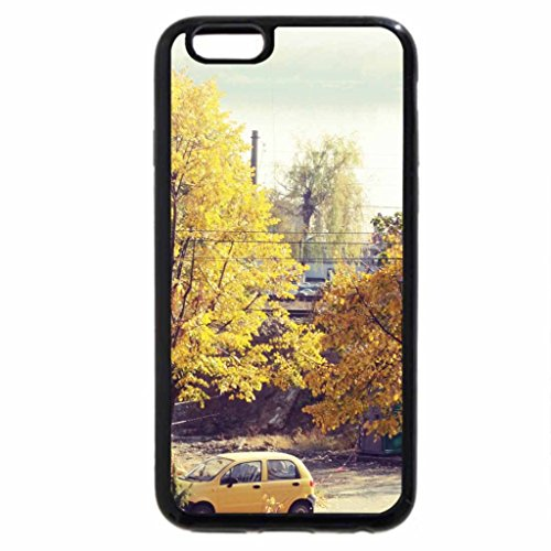 iPhone 6S / iPhone 6 Case (Black) Beautiful Autumn/Yellow