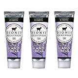 Dionis Goat Milk Hand Cream 3 Piece Travel Gift Set - Lavender Blossom
