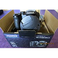 Fujifilm - FinePix S4830 16.0-Megapixel Digital Camera - Black (Bundle)