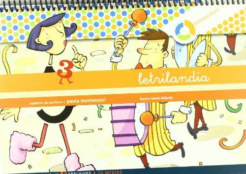 Letrilandia Lectoescritura Cuaderno 3 De Escritura - 9788426371416