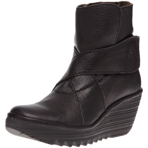 Fly London Womens Yeddo Boot Nero