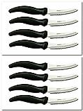 MIRACLE BLADE SteakKnives Eight STEAK KNIVES (8 steak knives)