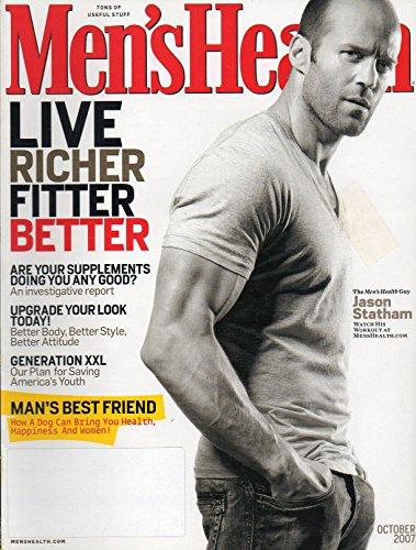 (MEN'S HEALTH MAGAZINE-JASON STATHAM-OCTOBER 2007)