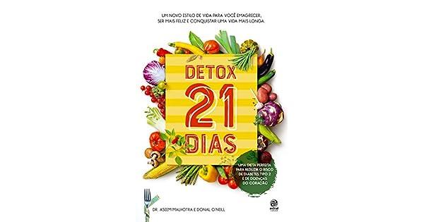 Dieta desintoxicante de 21 dias