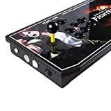 EG STARTS Arcade Video Game Console 815 in 1 Pandoras Box 4S+ Plus Slim Metal LED Box Consoles Support HDMI VGA and USB Output Support TV Set, Monitor, Projector, PC/Laptop In 815 Games
