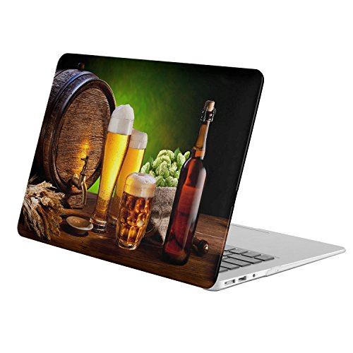 Mmm Beer - For Apple Macbook Pro 13.3 Inch + Retina Display [Model A1425 / A1502 (No CD-ROM)]( Food Beer Mmm Beer) , Matte Rubber Coated Soft Touch Plastic Hard Case