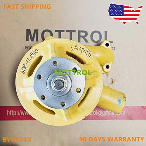 water pump 6138-61-1860 6138-61-5113 6138-61-1400 for KOMATSU ENGINE S6D110,PC400-1 Wheel Loader WA350-1 WA380-1 WA400-1 WA420-1