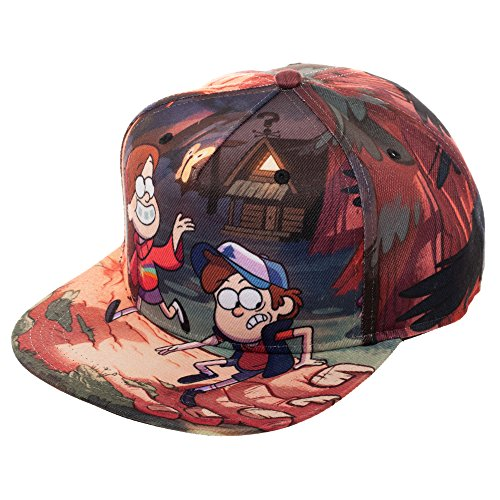 Gravity Falls - West of Weird Sublimated Hat - Officially Licensed
