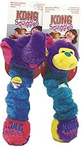 Pet Supplies : Pet Squeak Toys : KONG Squiggles Small Dog