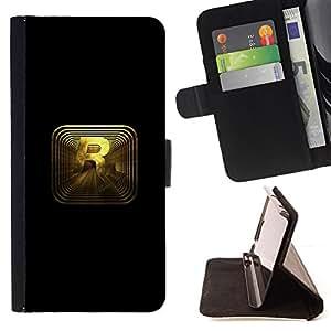 BullDog Case - FOR/Sony Xperia Z2 D6502 / - / R R0Ckstar Gaming /- Monedero de cuero de la PU Llevar cubierta de la caja con el ID Credit Card Slots Flip funda de cuer