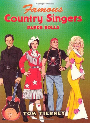 Famous Country Singers Paper Dolls