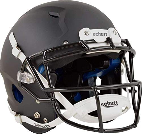 Schutt Vengeance Pro Adult Football Helmet (Facemask NOT Included) (Large, Matte Black) (Best Schutt Football Helmet)
