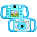 Prograce Kids Camera Dual Selfie Camera 1080P HD Video Recorder Digital Action Camera Camcorder for...
