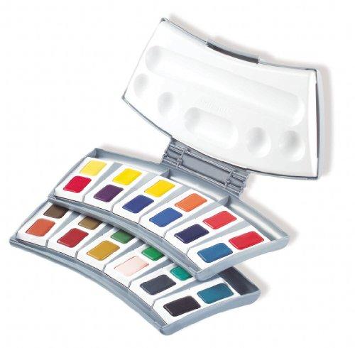 Pelikan Transparent Watercolor Paint Set, 24 Colors (721894)