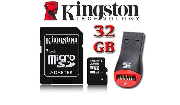Tarjeta de memoria microSDHC Kingston de 32 GB para TomTom ...