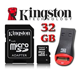 Kingston 32GB MicroSDHC Micro SD HC Memory Card Stick For Sony Xperia J Mobile Phone