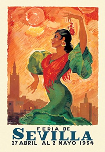 Buyenlarge Feria De Sevilla 1954 Wall Decal, 48'' H x 32'' W by Buyenlarge