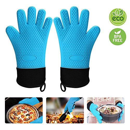 oven gloves long cuff - 2