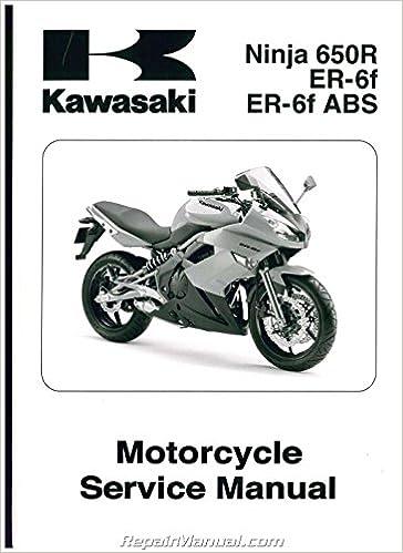 Amazon.com: 99924-1419-01 2009 Kawasaki EX650C Ninja 650R ...